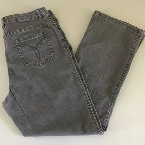 Westport Denim Gray Mom Jeans 14